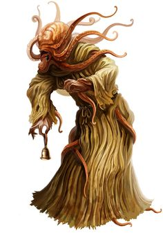 Might be fun to combine the mind flayer's mouth tentacles with a slug to create the Mindslug.