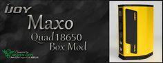 Bella Vapes Reviews: Ijoy Maxo Quad 18650 Box Mod Review