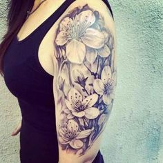 Beautiful Half Sleeve Tattoo