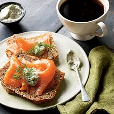Smoked Salmon with Tangy Horseradish Sauce | MyRecipes