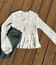 Free People English Rose Swit Top