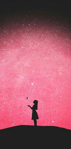 Anime art wallpaper pink 44 new Ideas Tumblr Wallpaper, Sad Wallpaper, Cute Wallpaper Backgrounds, Pretty Wallpapers, Screen Wallpaper, Nature Wallpaper, Galaxy Wallpaper, Iphone Wallpaper, Mobile Wallpaper