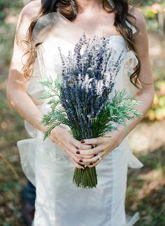Rustic wedding bouquet / simple woodland wedding bouquet