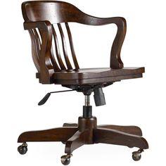 Sold tiger oak lawyer 39 s curved back office chair antique for Jasper stuhl 980