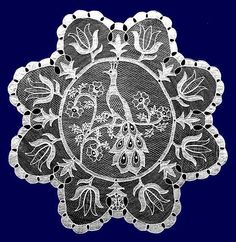 110 years old Halas Lace Hungarian Embroidery, Lace Embroidery, Embroidery Patterns, Needle Lace, Bobbin Lace, Vbs Crafts, Point Lace, Linens And Lace, Lace Making