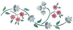Resultado de imagen para dibujo de enredadera con flores para imprimir