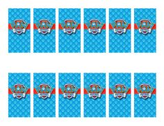 files.custompartyprints.com Downloads Branded Birthday Paw-Patrol Candy-Wrapper CPP543129-Minis Product CPP543129-Candy-Wrapper-Minis-Darkpaw.jpg
