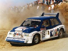 MG Metro 6R4 rally car