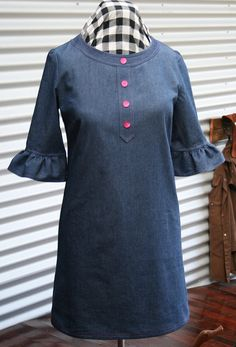 Market Dress by Lisette by nicole 1974, via Flickr (Simplicity 2211)