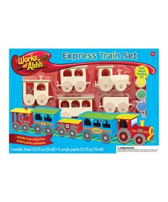 Love this Works of Ahhh... Express Train Kit by Works of Ahhh... on #zulily! #zulilyfinds