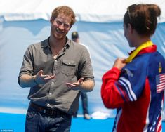 Prince Harry, praised all the athletes who took part in the Invictus Games in Florida this week, singling out Sarah Rudder, the survivor who won seven medals, and swimmer Elizabeth Marks.