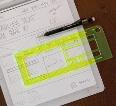 Quick Framer Stencil Kit... a pixel incremented ruler. just received mine in the mail today. sooooo exciting. $24.95