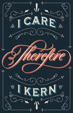 Ha! Do you kern? By Drew Melton