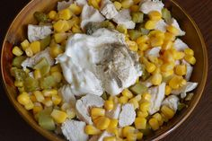 Salata cu piept de pui, porumb si maioneza - CAIETUL CU RETETE Vegetables, Food, Kuchen, Essen, Vegetable Recipes, Meals, Yemek, Veggies, Eten