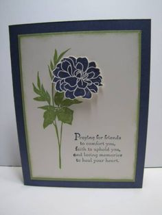 Sympathy by NellieKC - Cards and Paper Crafts at Splitcoaststampers