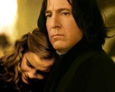 Fan Art of Severus&Hermione for fans of Severus Snape.