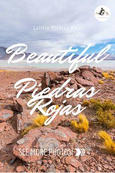 Die Piedras Rojas sind Perlen der Atacama Wüste in Chile. Jeder Reisende sollte sich diese wunderbare Gegend anschauen. Lonely Planet, Chile, More Photos, Journey, Gallery, Movies, Movie Posters, Continents, Beautiful Places