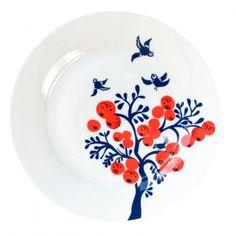 Louise Wilkinson Berry Tree Side Plate