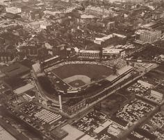 crosley field / 1955