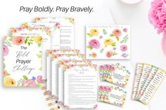 Looking for free Bible journaling printables? Use Bible journaling printables to grow your faith! You can use these free Bible journaling printables in your Bible journal, planner, or prayer journal! Powerful Morning Prayer, Morning Prayers, Powerful Prayers, Morning Devotion, Beautiful Prayers, Morning Messages, Scripture Reading, Scripture Cards, Bible Verses