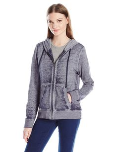 Threads 4 Thought Women's Brynn Zippie Hoodie Sweatshirt >>> This is an Amazon Affiliate link. Want to know more, click on the image.