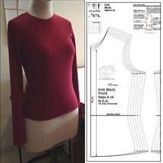 Learn Pattern Making using my Online Resources. Fashion Illustration or Pattern Making instructions to start your design journey. Sewing Patterns Free, Free Sewing, Knit Patterns, Clothing Patterns, Dress Patterns, Sewing Hems, Sewing Clothes, Knitting Blocking, Make Your Own Clothes