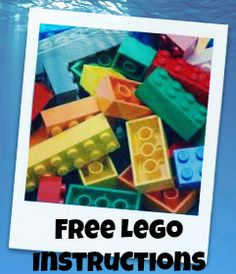Directions to a website that has free Lego instructions for all the Lego kits