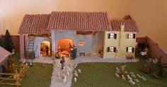 Come costruire le casette del presepe, tante idee fai da te Bird Houses, Mansions, House Styles, Home Decor, Nativity Sets, Nativity Scenes, Tejidos, Houses, Crafts