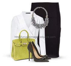 Work Wear #6 by uniqueimage on Polyvore featuring Donna Karan, Dolce&Gabbana, Stella & Dot, Hermès, women's clothing, women's fashion, women, female, woman and misses