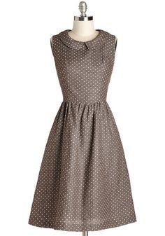 Morning Roast Dress, #ModCloth