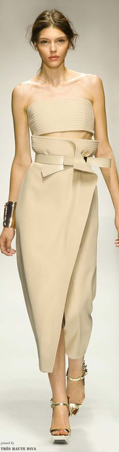 Gianfranco Ferre Spring 2014 | The House of Beccaria~