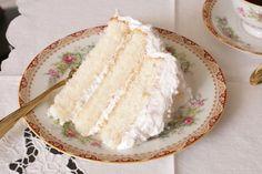 Dainty, light, Lady Baltimore Cake