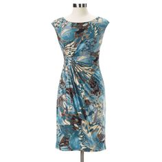 Watercolor Floral Dress - Northstyle
