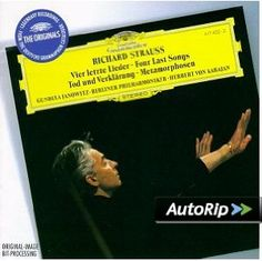 Amazon.com: Strauss: Four Last Songs  My new favorite composer :)
