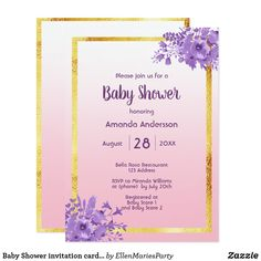 Baby Shower Invitation Letter Pleasing Paris Cafe Watercolor Baby Shower Tea Party Invitation  Babies And .