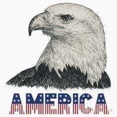 "Eagle ""America"" (stars & stripes)"