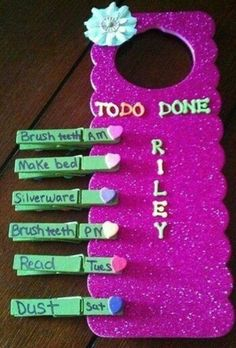 Awesome easy craft for responsible for what I do petal