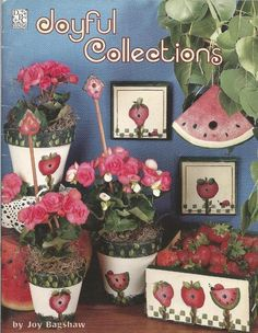 Joyful Collections Decorative Tole Painting Craft Book