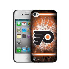 Iphone 4/4S Hard Cover Case - Philadelphia Flyers