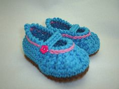 Too Cute Mary Jane Booties by BestDressedBaby on Etsy, $12.00