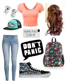 """""""Untitled #48"""" by catiepayne ❤ liked on Polyvore featuring H&M, Vans, Bling Jewelry and LE3NO"""