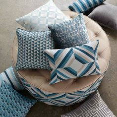 Gain access to the extensive Warwick Fabric collections by logging into your Warwick account or contact us for an account and to access your login. Coastal Fabric, Luxury Decor, Throw Cushions, Fabric Sofa, Pillows, Warwick Fabrics, Soft Furnishings, Throw Pillows, Upholstery