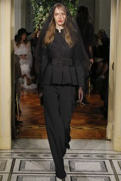 Fashion Woman Model Alberta Ferretti Limited Edition Catwalk