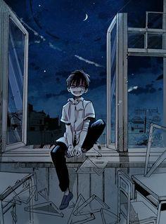 Sad Anime Girl, Cute Anime Guys, Anime Art Girl, Comic Anime, Otaku Anime, Manga Anime, Animes Wallpapers, Cute Wallpapers, Anime Bebe