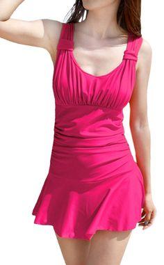 Women's Halter Shaping Body One-Piece Swimsuit lovely Janessa Swimwear(FBA) at Amazon Women's Clothing store: