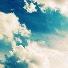 Allah SWT makes all things beautiful, even the clouds that float above our heads. #islam