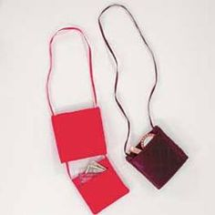 Purse With A Secret  This elegant purse is just the right size for special occasions, and its clever secret compartment keeps everything safe and secure.