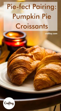 Croissants are delicious on any table, but this recipe calls for a sweet surprise — there's pumpkin pie hiding inside! So not only do these deliver on the light-and-flaky texture you love in a croissant, but they also have a heartier punch to kick-start your seasonal celebrations. Pair them with a cup of coffee on a chilly autumn morning, or serve them as part of a tasty Thanksgiving dinner — either way, your taste buds are in for a treat. Breakfast Recipes, Dessert Recipes, Croissant Recipe, Good Food, Yummy Food, Pumpkin Recipes, Food Inspiration, Brunch, Easy Meals
