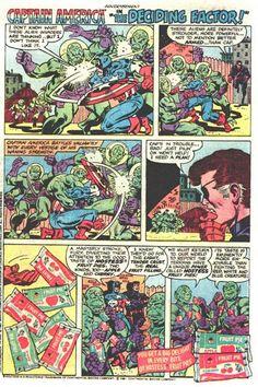 Hostess Snack Cake Ad Captain America in Deciding Factor // Comic book advertising.
