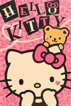 Sanrio Hello Kitty, Hello Kitty Art, Hello Kitty Themes, Hello Kitty My Melody, Hello Kitty Iphone Wallpaper, Hello Kitty Backgrounds, Sanrio Wallpaper, Cellphone Wallpaper, Decoracion Hello Kitty